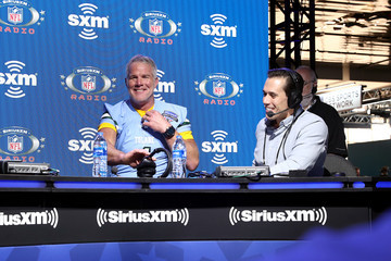 Brett Favre SiriusXM At Super Bowl LIV - Day 3
