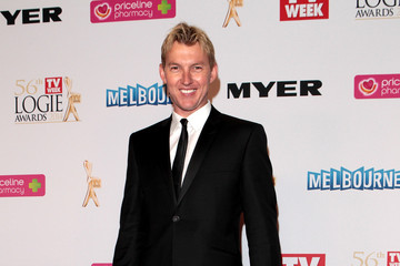Brett Lee 2014 Logie Awards - Arrivals