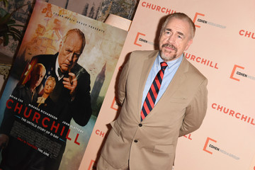 Brian Cox The New York Premiere of 'Churchill'