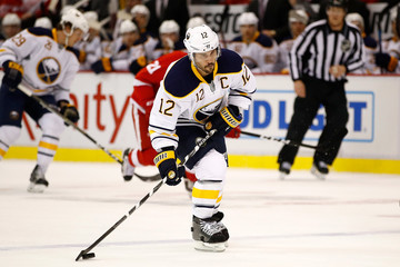 Brian Gionta Buffalo Sabres v Detroit Red Wings