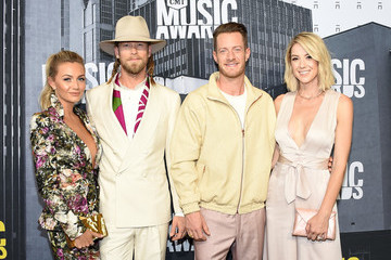 Brian Kelley Brittney Marie Cole 2017 CMT Music Awards - Arrivals
