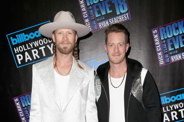 Brian Kelley Dick Clark's New Year's Rockin' Eve With Ryan Seacrest 2018 - Arrivals