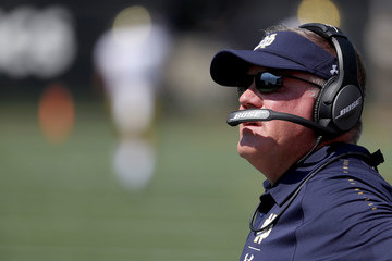Brian Kelly Notre Dame v Wake Forest
