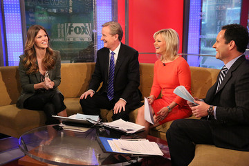 Brian Kilmeade Brooklyn Decker Visits Fox And Friends