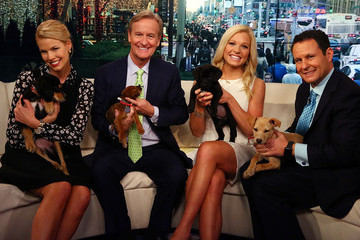 Brian Kilmeade Beth Stern Visits 'FOX & Friends'