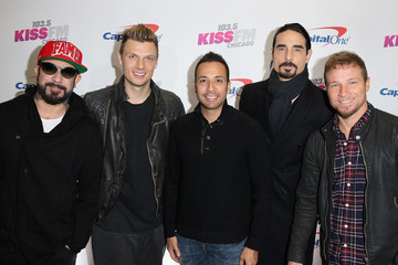 Brian Littrell 103.5 KISS FM's Jingle Ball 2016 - Press Room