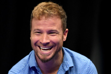 Brian Littrell SiriusXM's the Highway Channel Broadcasts Backstage Leading Up to the Academy of Country Music Awards at the T-Mobile Arena