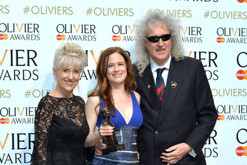 Brian May The Olivier Awards - Winners Room