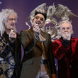 Brian May Queen Holds Press Conference In Seoul
