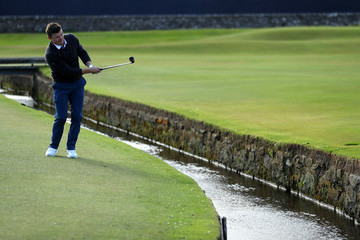 Brian O'Driscoll Alfred Dunhill Links Championship - Day One