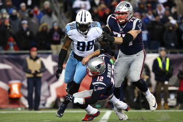 Brian Orakpo Divisional Round - Tennessee Titans v New England Patriots