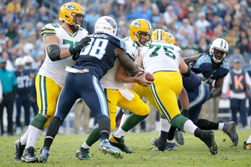 Brian Orakpo Green Bay Packers v Tennessee Titans