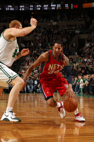 48dfd00cbe7 Brian Scalabrine Photos Photos - New Jersey Nets v Boston Celtics ...