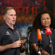 Brian Smith New Zealand Warriors Women's Squad Media Opportunity