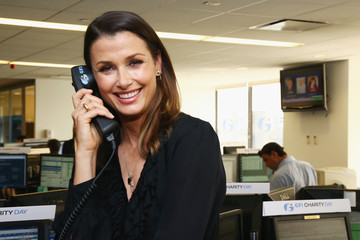 Bridget Moynahan Annual Charity Day Hosted By Cantor Fitzgerald, BGC and GFI - GFI Office - Inside