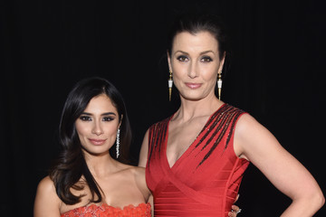 Bridget Moynahan The American Heart Association's Go Red For Women Red Dress Collection 2017 Presented By Macy's at Fashion Week in New York City - Backstage