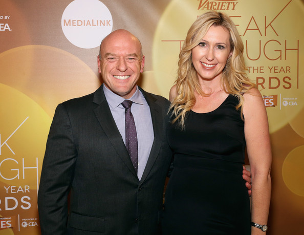 Dean Norris with Wife Bridget