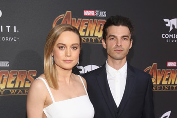 Brie Larson Los Angeles Global Premiere for Marvel Studios' 'Avengers: Infinity War'