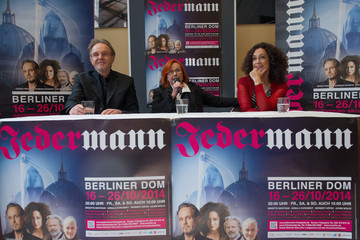 Brigitte Grothum 'Jedermann' Press Conference And Photocall