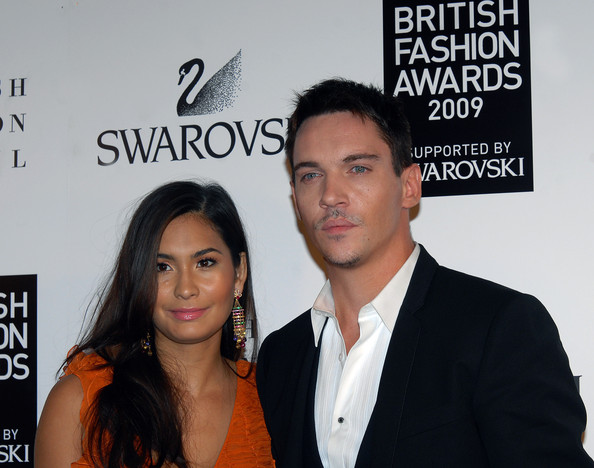 jonathan rhys meyers girlfriend reena hammer. Meyers with Girlfriend Reena