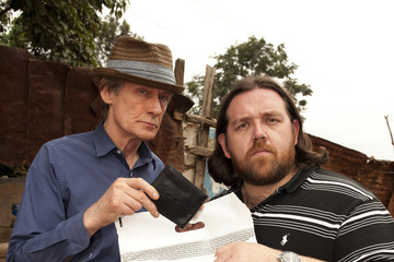 Nick Frost Bill Nighy British Airways And Comic Relief Announce Charity Partnership