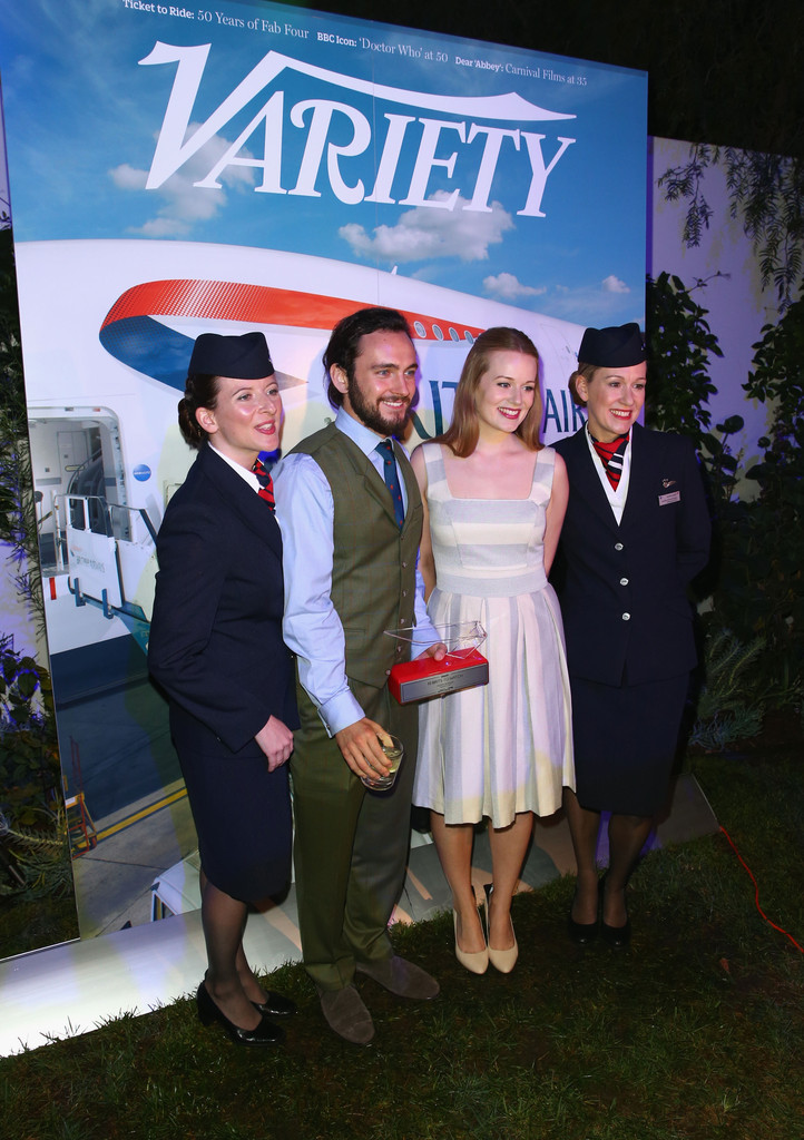 Cara Theobold George Blagden Photos - British Airways and Variety
