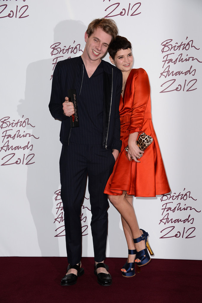 Jonathan anderson in british fashion awards 2012 awards for British mode