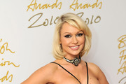 Kristina Rhianoff attends the British Fashion Awards at The Savoy on December 7, 2010 in London, England.