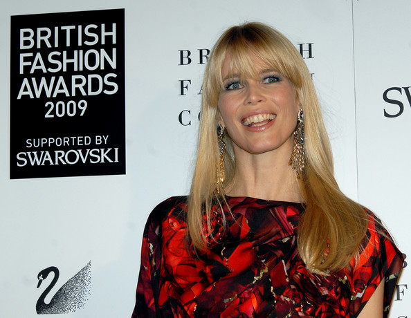 Claudia Schiffer Model Claudia Schiffer attends the British Fashion Awards at Royal Courts of Justice, Strand on December 9, 2009 in London, England.