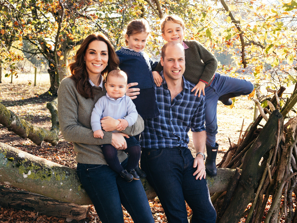 The Royal Family's Christmas Cards Are Out, And They're Each Giving Us Such Different Vibes