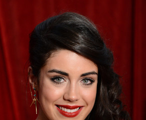 Bianca Hendrickse-Spendlove British Soap Awards 2012 - Red Carpet Arrivals