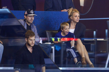 Britney Spears David Lucado 2014 NHL Stanley Cup Final - Game Two