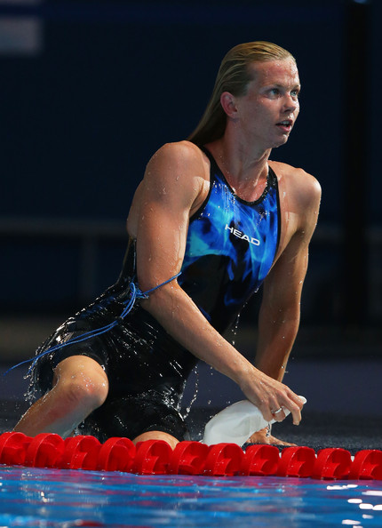 Britta steffen pictures swimming 15th fina world for Swimming pool show barcelona