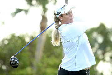 Brittany Lincicome Pure Silk Bahamas LPGA Classic - Round One