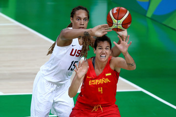 Brittney Griner Badminton - Olympics: Day 15