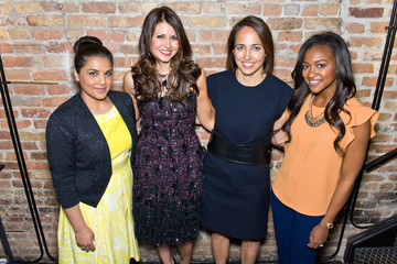 Brittney Payton Anne Fulenwider Marie Claire's Power of Presence Event