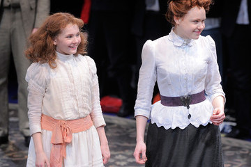 """Abigail Breslin Alison Pill Broadway Opening Of """"The Miracle Worker"""" - Arrivals & Curtain Call"""