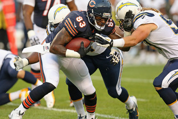 Bront Bird Corey Liuget San Diego Chargers v Chicago Bears