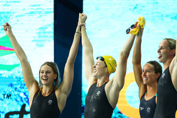 Bronte Campbell Swimming - Commonwealth Games Day 1