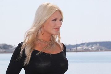 Brooke Hogan 'The Fashion Hero' Photocall At La Rotonde -  MIP TV 2017 In Cannes