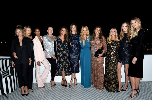 Box of Style By Rachel Zoe Female Founders Dinner [rachel zoe female founders dinner,guest,rebecca gayheart,kelly sawyer,rachel zoe,candace nelson,vanessa lachey,style,box,l-r,social group,event,fashion,team,fashion design,performance]