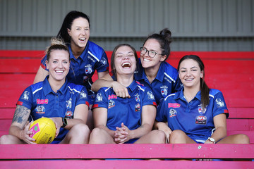 Brooke Lochland Western Bulldogs AFLW Media Opportunity