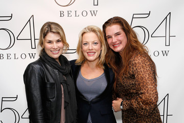Brooke Sheilds At 54 BELOW: Tom Hanks, Rita Wilson & Brooke Sheilds Visit Sherie Rene Scott
