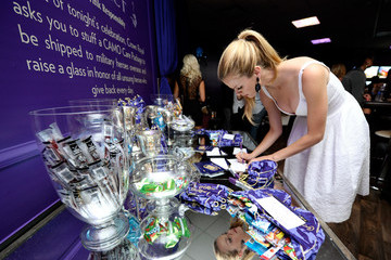 Brooklyn Decker Crown Royal Lounge at the CMT Music Awards
