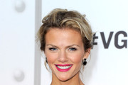 Brooklyn Decker's Casual Updo