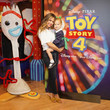 Brooklyn Lachey Disney Store Toy Story 4 Takeover