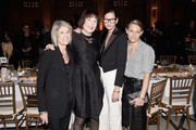 (L-R) Linda Jablonski, Marilyn Minter, Jenna Lyons and Courtney Crangi attend as Brooklyn Museum celebrates Marilyn Minter and Iggy Pop at Opening Night Event at Brooklyn Museum on November 3, 2016 in New York City.