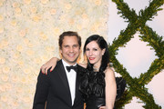 Harry Kargman (L) and Jill Kargman attend the Brooks Brothers Bicentennial Celebration at Jazz At Lincoln Center on April 25, 2018 in New York City.
