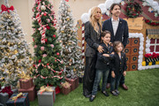 (L-R) Rachel Zoe, Skyler,  Kai, and Rodger Berman arrive at the Brooks Brothers Annual Holiday Celebration To Benefit St. Jude at the Beverly Wilshire Four Seasons Hotel on December 9, 2018 in Beverly Hills, California.