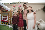 James Franco and of children St. Jude's arrive at the Brooks Brothers Annual Holiday Celebration To Benefit St. Jude at the Beverly Wilshire Four Seasons Hotel on December 9, 2018 in Beverly Hills, California.